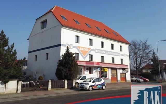foto Komerční objekt užívaný jako autoservis obec Mnichovo Hradiště, okres Mladá Boleslav