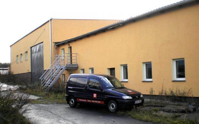 foto Skladové haly v obci Sedliště, okr. Frýdek-Místek