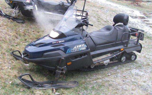 foto Elektronická aukce – 04 – Sněžný skútr  LYNX Yeti Pro V-800 /3H3609/ oblast Krušné hory