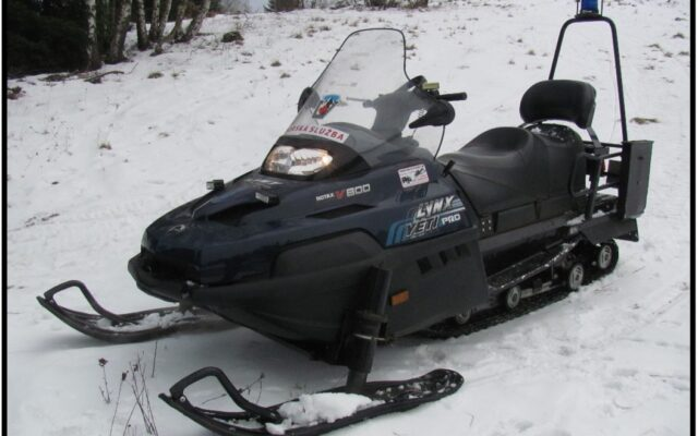 foto Elektronická aukce – 06 – Sněžný skútr  LYNX Yeti Pro V-800 /3H6508/ oblast Jizerské hory