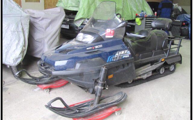 foto Elektronická aukce – 26 – Sněžný skútr  LYNX Yeti Pro V-800 /3H6507/ oblast Jeseníky