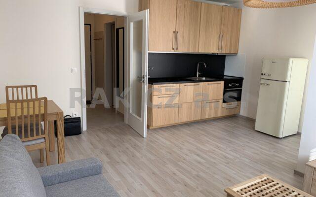 foto Zařízený byt 1+kk slodžií, 36,7 m2, novostavba – cihlový dům, Praha 9 – Vysočany, ulice Strnadových