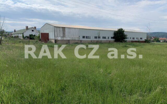 foto Zemědělský objekt askladovací hala, pozemek 8.133 m2, obec Kravaře uČeské Lípy
