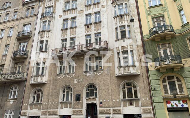 foto Byt 2+kk, 44 m2, Praha 5 – Smíchov, Lesnická ulice
