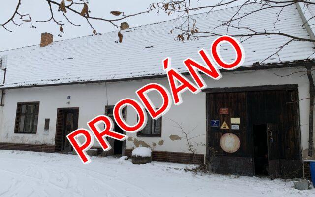 foto Řadový RD 2+1 spříslušenstvím, 100 m2 + stodola, pozemky 26.684 m2, Blatná – Mačkov, okr. Strakonice