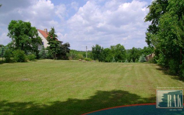 foto Pozemek pro stavbu 1-3 RD, 3 923 m2, Vysoký Chlumec, okr. Příbram