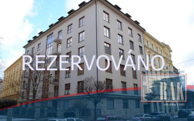 foto Byt 2+kk, 58 m2, garážové stání, Lublaňská ulice, Praha 2 – Vinohrady