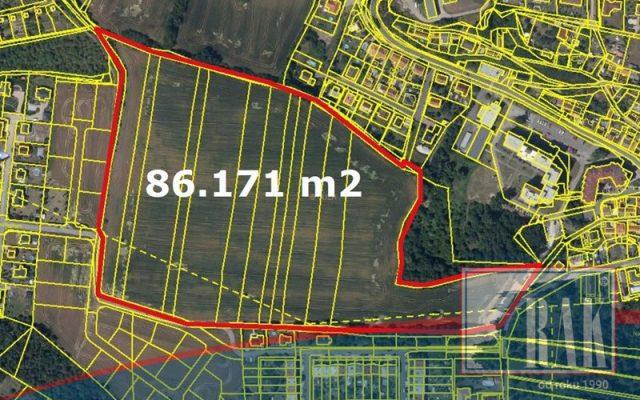 foto Soubor pozemků kvýstavbě rodinných domů, 86.171 m2, Kralupy nad Vltavou, místní část Hostibejk