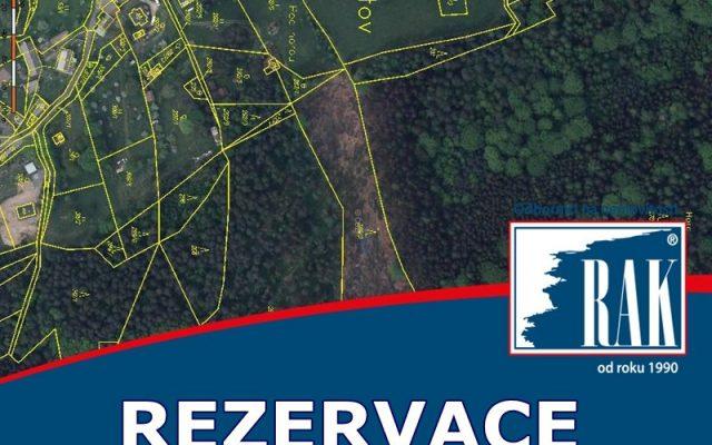 foto Pozemky v k.ú. Chlístov, 21 304 m2