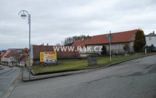 foto Pozemek v centru města Mladá Vožice