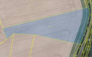 foto 6966 m2, orná půda, okr. Klatovy