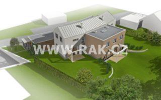 foto Prostorný byt 4+kk, 113 m2, vlastní zahrada 300 m2, 2x parkovací stání, obec Tuchoměřice, ul. Za Kostelem