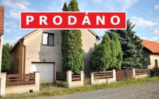 foto Prostorný RD 4+1 s garáží a příslušenstvím, užitná plocha 170 m2, pozemek 644 m2, obec Dřísy, okr. Praha – východ, Růžová ulice