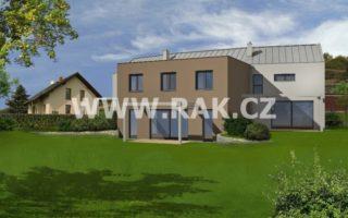 foto Prostorný dům 4+kk, 119 m2, vlastní zahrada 223 m2, 2x parkovací stání, obec Tuchoměřice, ul. Za Kostelem