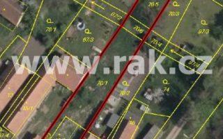 foto Pozemek 1802 m2 pro stavbu RD, Dolní Roveň, okr. Pardubice