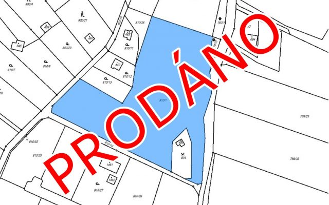 foto Pozemek kvýstavbě rodinných domů, 8.332 m2, Kamenice – Těptín, Praha – východ, ul. Hluboká