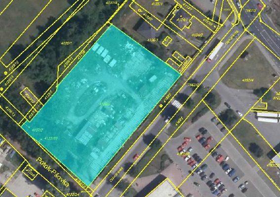 foto Pozemek 5537 m2, Mělník, přiulici Chloumecká