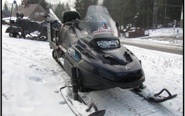 foto Elektronická aukce – 05 – Sněžný skútr  LYNX Yeti Pro V-800 /3H3608/ oblast Jizerské hory