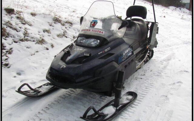 foto Elektronická aukce – 07 – Sněžný skútr  LYNX Yeti Pro V-800 /3H6514/ oblast Jizerské hory