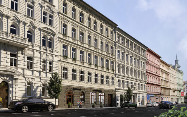 foto Byt 1+kk, 28,6 m2, Praha 2 – Nové Město, Legerova