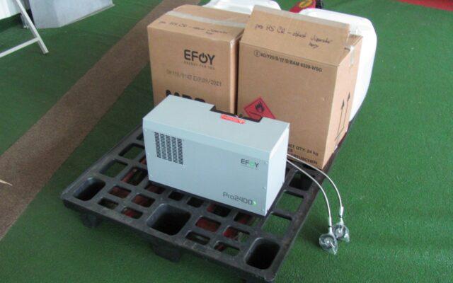 foto Elektronická aukce – 9 – Napájecí systém EFOY Pro 2400 Duo