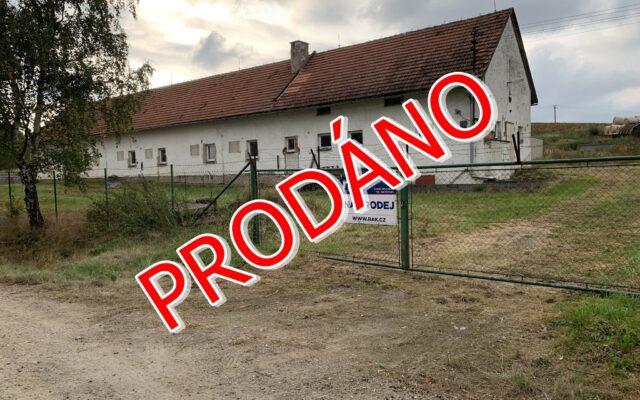 foto Multifunkční objekt se sklady, kancelářemi aautodílnou, 330 m2, pozemek 4.179 m2, Bystřice – Drachkov, okr. Benešov