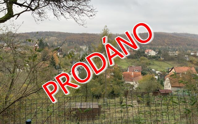 foto Lesní pozemek smalou chatkou, 2.864 m2, Vráž – Pod Hájem, okr. Beroun