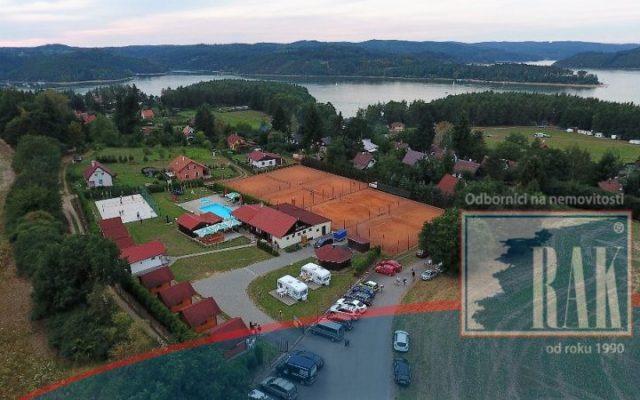 foto Sportovně – rekreační areál Radava, Orlická přehrada, Kovářov – Chrást, okres Písek
