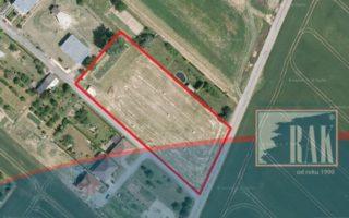 foto Soubor 4 pozemků k výstavbě rodinných domů, 4.904 m2, obec Buk, okr. Přerov