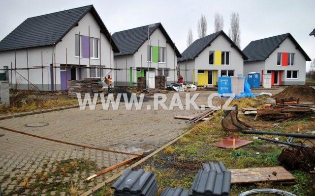 foto Novostavba samostatného, zděného RD 4+1, 107 m2, parkovací stání, pozemek 307 m2, obec Býkev – okres Mělník