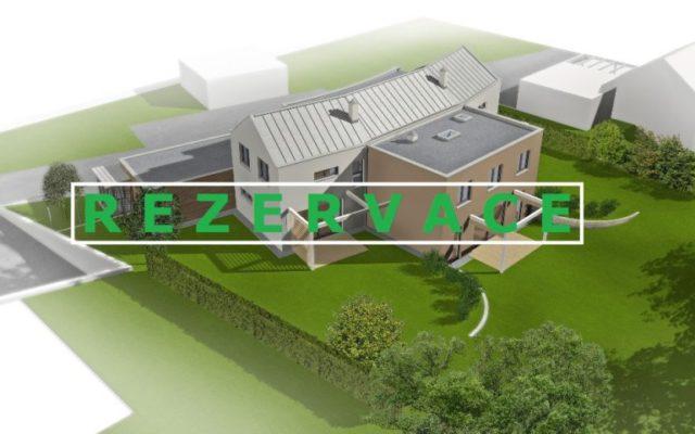 foto Prostorný byt 4+kk, 119 m2, vlastní zahrada 264 m2, 2x parkovací stání, obec Tuchoměřice, ul. Za Kostelem