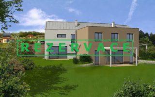 foto Prostorný dům 4+kk, 113 m2, vlastní zahrada 300 m2, 2x parkovací stání, obec Tuchoměřice, ul. Za Kostelem