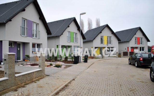 foto Novostavba samostatného, zděného RD 4+kk, 106 m2, parkovací stání, pozemek 298 m2, obec Býkev – okres Mělník