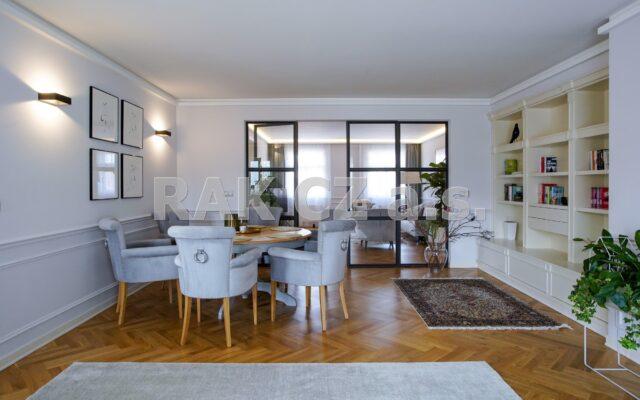 foto Nový, luxusní byt 5+kk, 204 m2, dva balkony 9,5 m2, Praha 2 – Vinohrady, Mánesova ulice