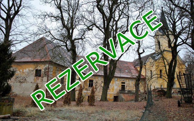 foto Barokní zámek spozemky 7.593 m2, obec Chříč uKralovic, okr. Plzeň – sever